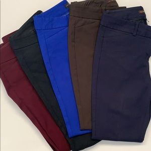 The Limited exact stretch skinny dress pant bundle